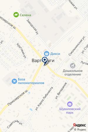 Магазин рыболовных принадлежностей наПриозерском шоссе (Всеволожский район), 124а на карте Вартемяг