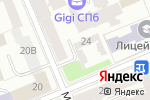 Схема проезда до компании Бостр в Санкт-Петербурге