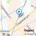 СТЕРХ на карте Санкт-Петербурга