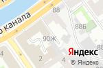 Схема проезда до компании Городская бухгалтерская служба в Санкт-Петербурге