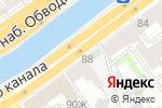 Схема проезда до компании СТАРТ 24 в Санкт-Петербурге