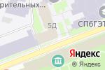 Схема проезда до компании Итис, ЗАО в Санкт-Петербурге