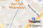 Схема проезда до компании Сабай Сабай в Санкт-Петербурге