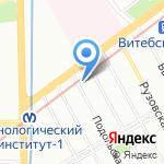 СВК Ньюдент на карте Санкт-Петербурга