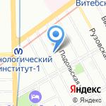 Санкт-Петербургский банковский колледж Центрального Банка РФ на карте Санкт-Петербурга