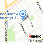 Вкусная шаверма на карте Санкт-Петербурга