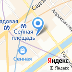 Скутер напрокат! на карте Санкт-Петербурга