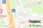 Схема проезда до компании Лен-Мед-С в Санкт-Петербурге