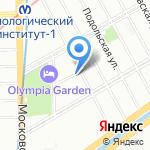 Аварийно-диспетчерская служба Адмиралтейского района на карте Санкт-Петербурга