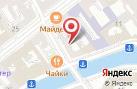 Схема проезда до компании ПМК Холдинг в Санкт-Петербурге