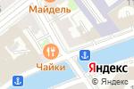 Схема проезда до компании Тюльпан в Санкт-Петербурге