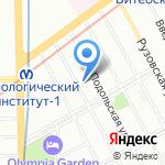 Пьер Фошар на карте Санкт-Петербурга