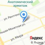 Управление МВД России по Петроградскому району на карте Санкт-Петербурга