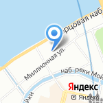 Ленконцерт на карте Санкт-Петербурга