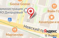 Схема проезда до компании Восточный Союз в Санкт-Петербурге