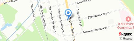 Ярмарка Недвижимости на карте Санкт-Петербурга
