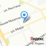 Бостр на карте Санкт-Петербурга