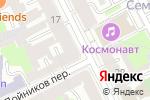 Схема проезда до компании Qiwi в Санкт-Петербурге
