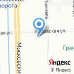 МОРЕЛЕТА на карте Санкт-Петербурга