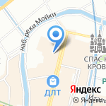 Дворы Капеллы на карте Санкт-Петербурга