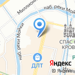 Галерея Кустановича на карте Санкт-Петербурга