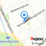 Сити-Дент на карте Санкт-Петербурга