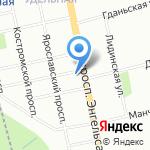 Центр психологической помощи на Невском 154 на карте Санкт-Петербурга
