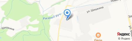 СВС-транс на карте Санкт-Петербурга