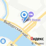 Головной проектный НИИ-5 на карте Санкт-Петербурга