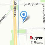 Таргет на карте Санкт-Петербурга