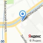 Дельта-строй на карте Санкт-Петербурга
