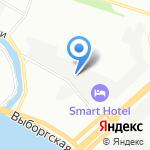 АГИС-Энерго на карте Санкт-Петербурга