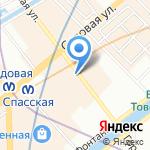 Гороховая 47 Б на карте Санкт-Петербурга