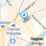Gratex на карте Санкт-Петербурга