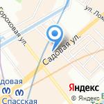 Донхлеббанк на карте Санкт-Петербурга
