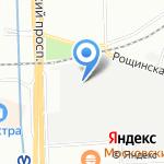 Специальное конструкторское бюро силовых машин на карте Санкт-Петербурга