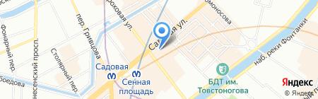СевЗапТрансСтрой на карте Санкт-Петербурга