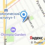Анна на карте Санкт-Петербурга