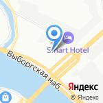 Конвент на карте Санкт-Петербурга