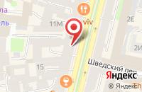 Схема проезда до компании Евро-Принт в Санкт-Петербурге