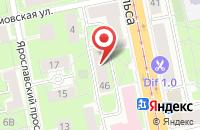 Схема проезда до компании Сбондс-Конгресс в Санкт-Петербурге