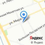 Студия улыбок на карте Санкт-Петербурга