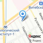 SVDance на карте Санкт-Петербурга