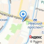 Дента на карте Санкт-Петербурга