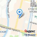 Галерея Михайлов на карте Санкт-Петербурга