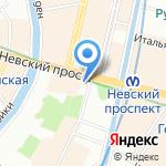 Мигрант+ на карте Санкт-Петербурга