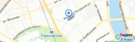 Маки на карте Санкт-Петербурга