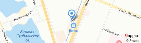 Парикмахерская СПб на карте Санкт-Петербурга