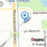 ЕМС на карте Санкт-Петербурга