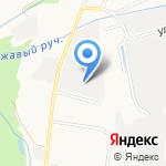 Бетокон на карте Санкт-Петербурга